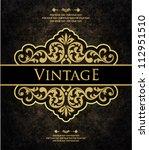 vintage background   Shutterstock .eps vector #112951510
