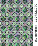 abstract colorful checkered...   Shutterstock . vector #1129521770