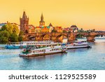 prague czech republic may 7 ... | Shutterstock . vector #1129525589