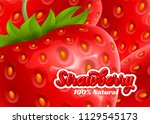 bright background with juicy... | Shutterstock .eps vector #1129545173