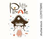 Cute Baby Girll In A Pirate...