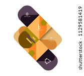infographics option and step by ...   Shutterstock .eps vector #1129581419