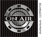 on air silver emblem | Shutterstock .eps vector #1129584728