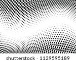 abstract halftone wave dotted... | Shutterstock .eps vector #1129595189