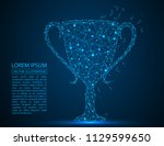 abstract image of the cup ... | Shutterstock .eps vector #1129599650