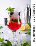 Cold Summer Homemade Fruit And...