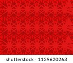 red abstract background  vector ... | Shutterstock .eps vector #1129620263