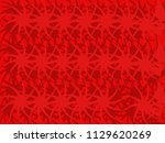 red abstract background  vector ... | Shutterstock .eps vector #1129620269