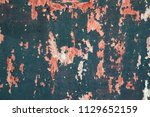 abstract corroded colorful... | Shutterstock . vector #1129652159