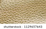close up on shiny gold faux...   Shutterstock . vector #1129657643