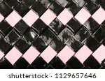 close up on shiny plastic...   Shutterstock . vector #1129657646