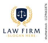 law firm design inspiration... | Shutterstock .eps vector #1129661876