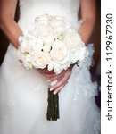beautiful wedding bouquet in... | Shutterstock . vector #112967230