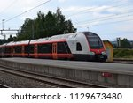 nsb train at the platform... | Shutterstock . vector #1129673480