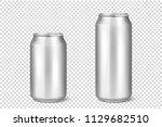 vector realistic 3d empty... | Shutterstock .eps vector #1129682510