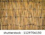 Natural Bamboo Fence Backgroun...