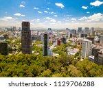mexico city  mexico   circa... | Shutterstock . vector #1129706288