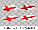 vector realistic isolated paint ... | Shutterstock .eps vector #1129707890