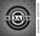 dab black emblem. vintage. | Shutterstock .eps vector #1129747139