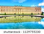 versailles palace  paris  france | Shutterstock . vector #1129755230