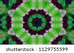 illustration of a mosaic image  ... | Shutterstock . vector #1129755599