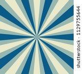 retro starburst or sunburst...   Shutterstock .eps vector #1129755644
