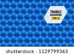 triangle full background vector ...   Shutterstock .eps vector #1129799363