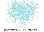 light blue vector layout with... | Shutterstock .eps vector #1129845470