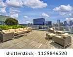 view of sky lounge on the roof...   Shutterstock . vector #1129846520