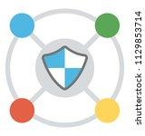 network integrity representing ...   Shutterstock .eps vector #1129853714