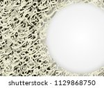 abstract bluebackground random... | Shutterstock .eps vector #1129868750