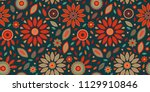 powerful colorful repeat... | Shutterstock .eps vector #1129910846