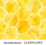 abstract geometric seamless... | Shutterstock .eps vector #1129911593