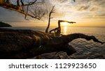 Small photo of Sunset at Port Dickson beach