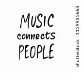 music connects people abstract... | Shutterstock .eps vector #1129931663