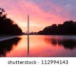 Bright Red And Orange Sunrise...