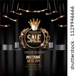 premium sale elegant banner... | Shutterstock .eps vector #1129946666