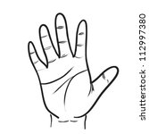 hand sketch drawing vector | Shutterstock .eps vector #112997380