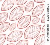 seamless abstract pattern.... | Shutterstock .eps vector #1129980578