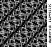 design seamless monochrome... | Shutterstock .eps vector #1129988360