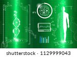 abstract background technology... | Shutterstock .eps vector #1129999043