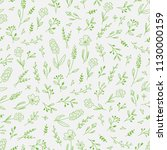 seamless pattern with line... | Shutterstock .eps vector #1130000159