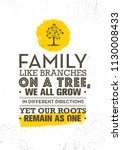 family like branches on a tree  ... | Shutterstock .eps vector #1130008433