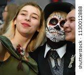moscow  russia   june 29  2018  ... | Shutterstock . vector #1130012888