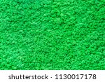 stable background of green moss.... | Shutterstock . vector #1130017178