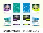 business abstract vector... | Shutterstock .eps vector #1130017619