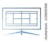 tennis tv translation icon....   Shutterstock .eps vector #1130029358