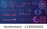 technology graphics and diagram ... | Shutterstock .eps vector #1130033603