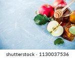 jewish holiday rosh hashanah or ... | Shutterstock . vector #1130037536