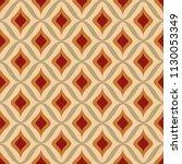 Stock vector seamless retro ornamental pattern vector illustration 1130053349